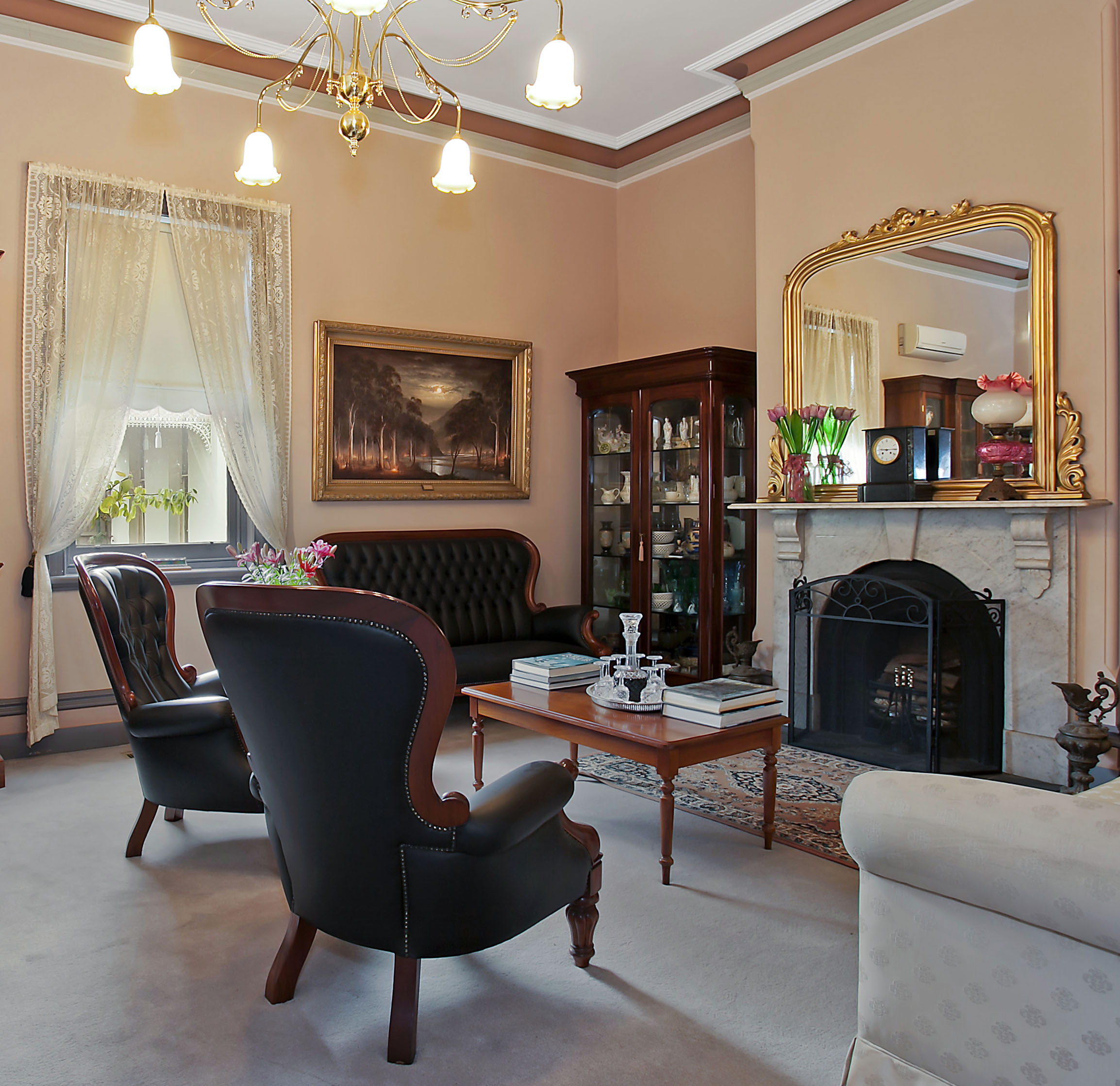 Front Sitting Room.